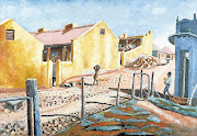 EARLY WORK: 'Yellow Houses, A Street in Sophiatown' was bought by the Johannesburg Art Gallery, a first for a municipal gallery in apartheid South Africa
