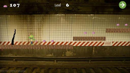 Subway Zombie Run