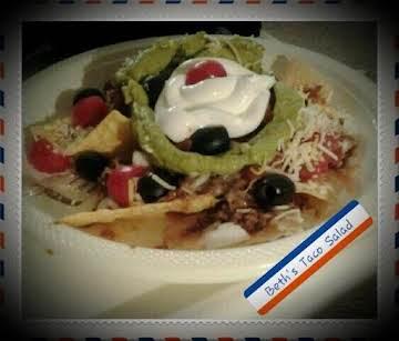 Beth's Taco Salad