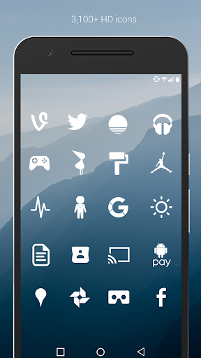 Screenshot for Flight - Flat Minimalist Icons (Pro Version) in Hong Kong Play Store