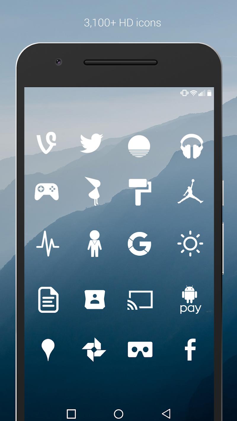 Flight - Flat Minimalist Icons (Pro Version) Screenshot 1