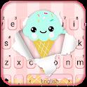 Cute Ice Cream2 Keyboard Theme icon