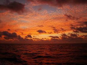Photo: Coucher de soleil sur Cocos Island Costa Rica (2010)