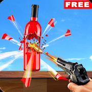 Real Bottle Target Shooting Game 2019: Free Games