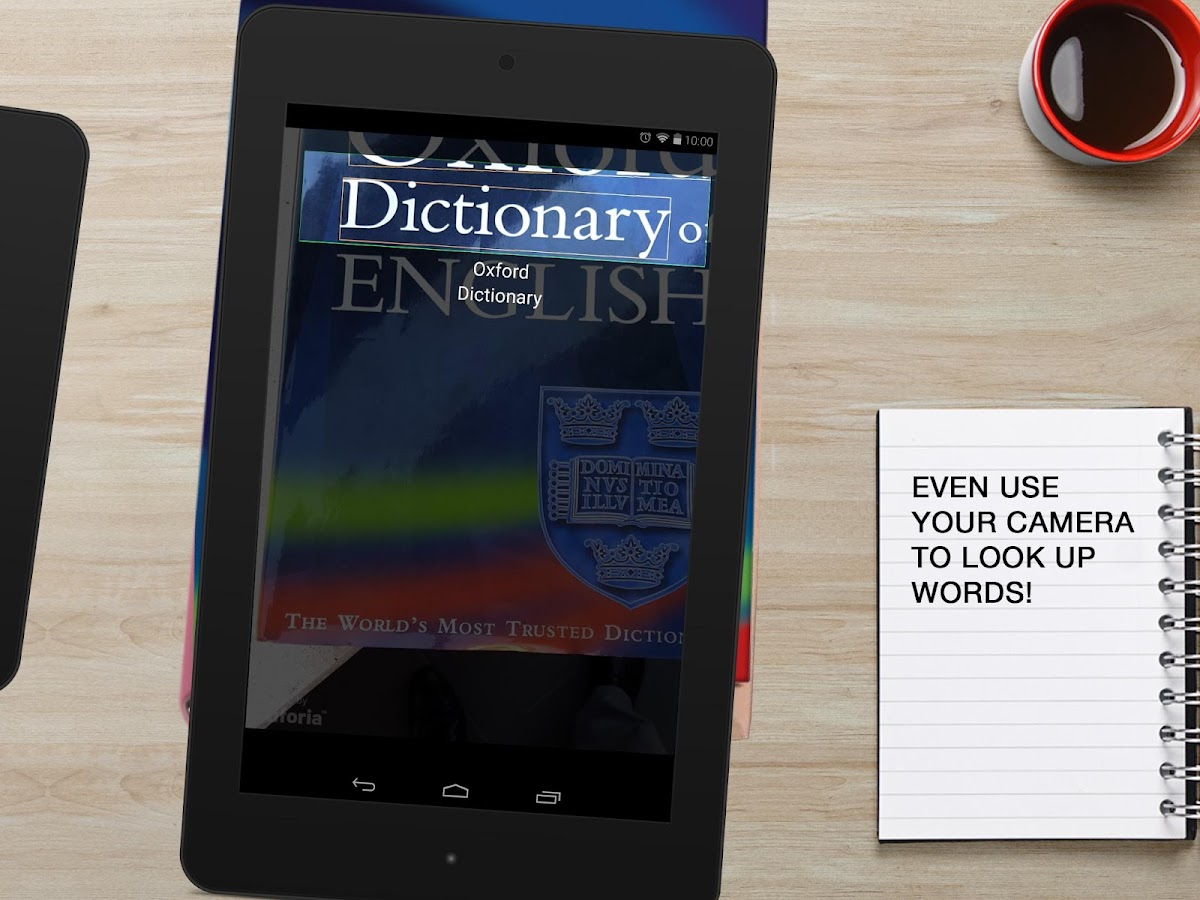 Oxford Dictionary of English- screenshot