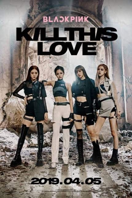 BLACKPINK released 2nd New EP album 'Kill This Love'