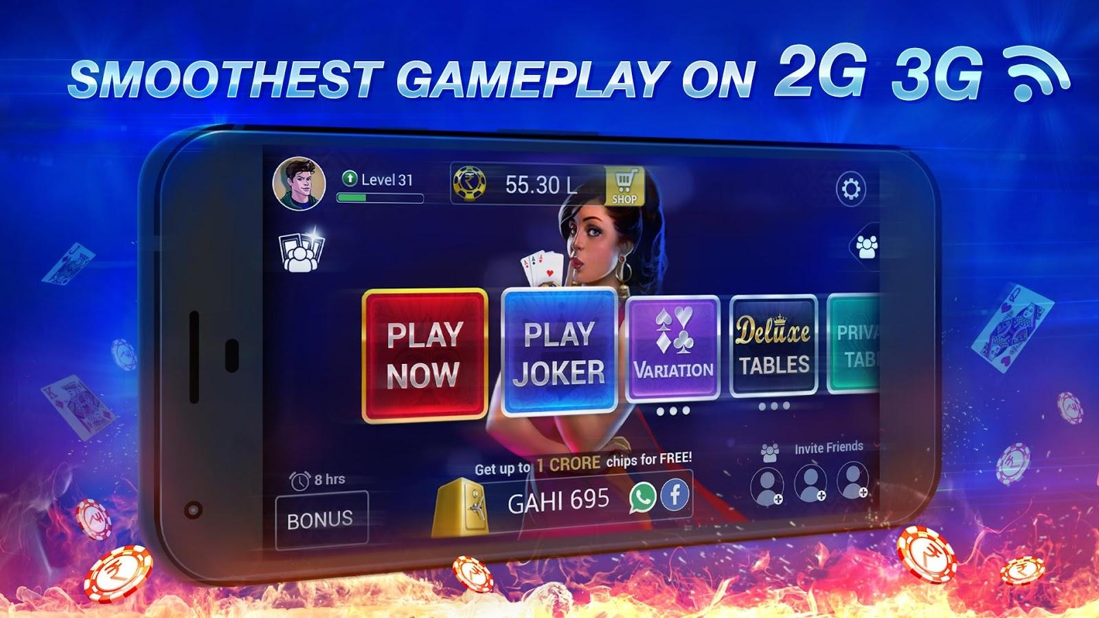 Screenshots of Teen Patti Gold for iPhone