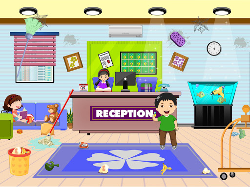 Pretend Play Hotel Cleaning: Doll House Fun 1.1.1 screenshots 4
