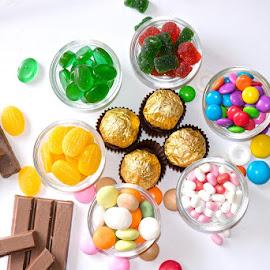 Candies by Kunal Kumar Maurya - Food & Drink Candy & Dessert ( gems, chocolate, chocolates, candy, jems )