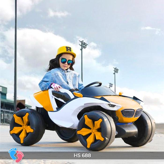 Xe ô tô điện địa hình cho bé hs-688 3