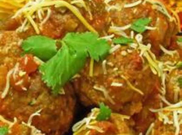 South Beach Diet Taco Meatballs image