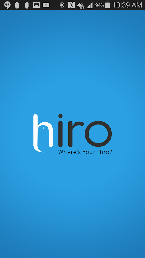 The Hiro App- screenshot