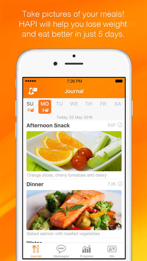HAPI - Nutrition Coaching- screenshot