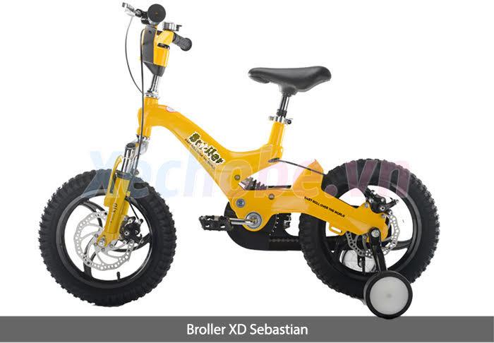 xe đạp cho bé từ 4 đến 7 tuổi