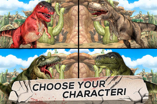 Jurassic Run Attack - Dinosaur Era Fighting Games