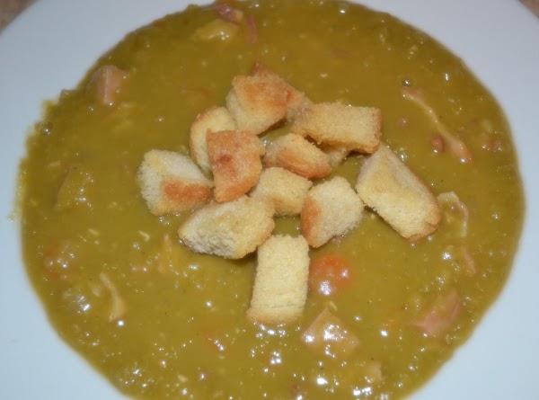 Split Pea Soup With Bacon & Ham Recipe