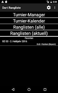 Dart Rangliste- screenshot thumbnail