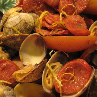 Clams With Spanish Sausage