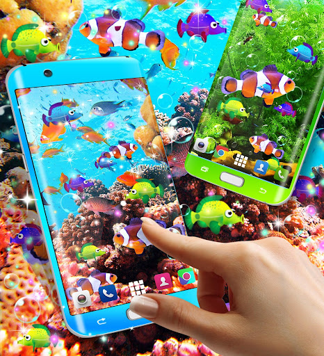 Fish live wallpaper 8.8 screenshots 1