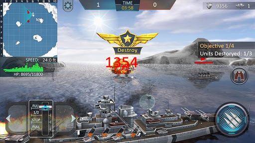 Warship Attack 3D 1.0.4 screenshots 4