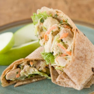 Coconut Curry Chicken Wraps