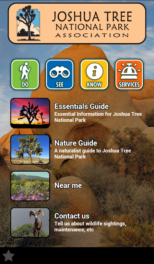 Joshua Tree National Park- screenshot