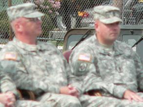 Photo: Battalion Commander LTC Mike Pooler and CSM Shawn Thibodeau