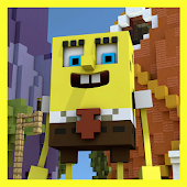 Bikini Bottom Squarepants Bob Map for MCPE