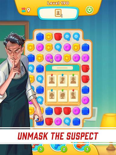 Riddleside: Fading Legacy - Detective match 3 game apktram screenshots 19