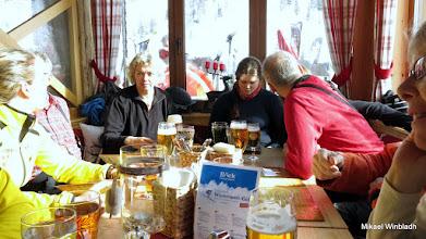 Photo: Lunch i Sportgastein.