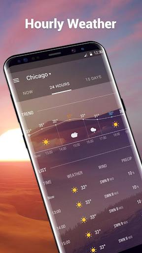 الطقس العنبر screenshot 3
