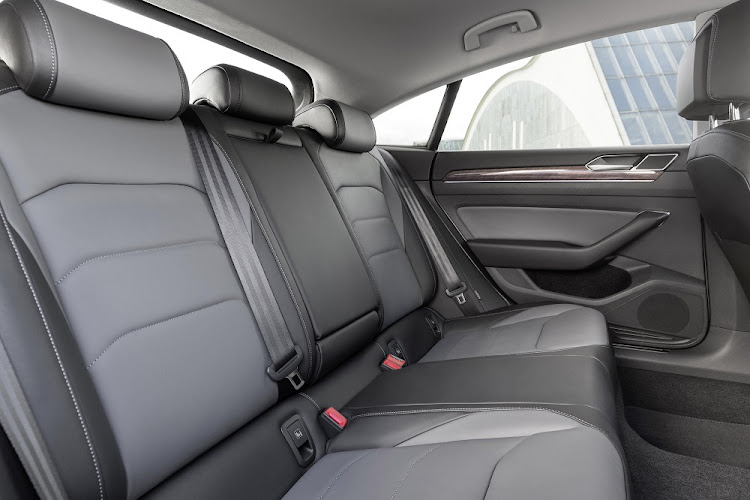 Increased dimensions and styling changes translate into more rear seat space.   Picture: VOLKSWAGEN