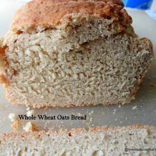 Whole Wheat Oats Bread.