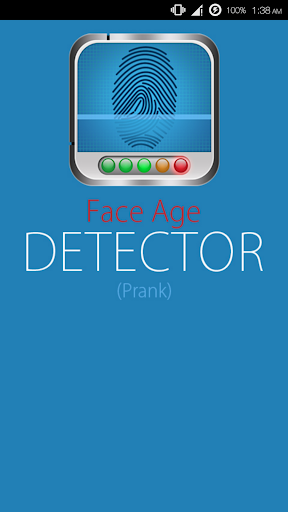Face Age detector prank