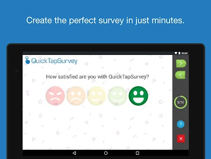 QuickTapSurvey Offline Survey- screenshot thumbnail