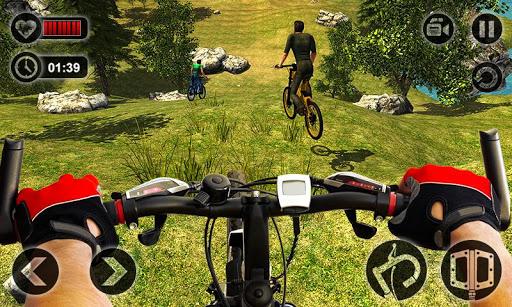 Offroad da bicicleta do Uphill
