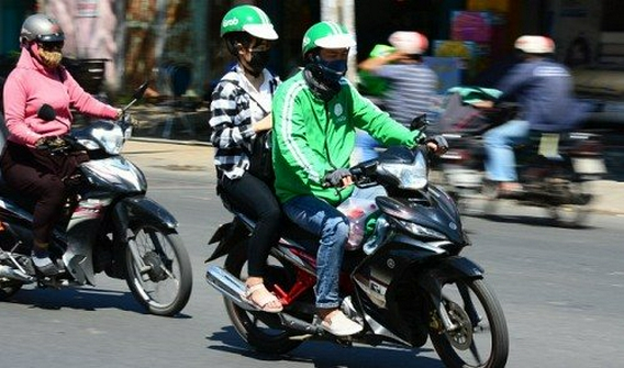 Image result for grab bike vietnam