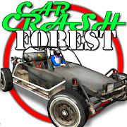 Car Crash Forest racing game