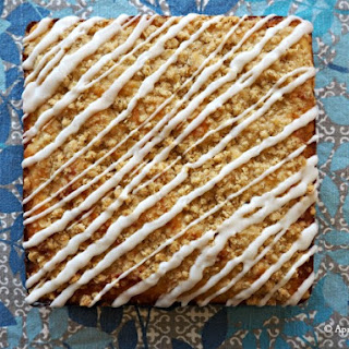 Lemon Almond Streusel Bars