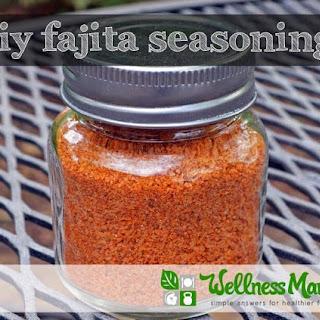 Homemade Fajita Seasoning Recipe.
