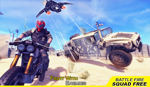 Battle Fire Squad Free Survival: Battleground Game android2mod screenshots 11