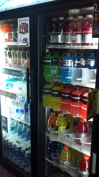 Photo: juices and sports drinks...