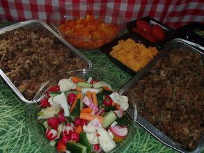Photo: Le buffet Wisteria Lane chaud