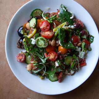 Chopped Greek Quinoa Salad
