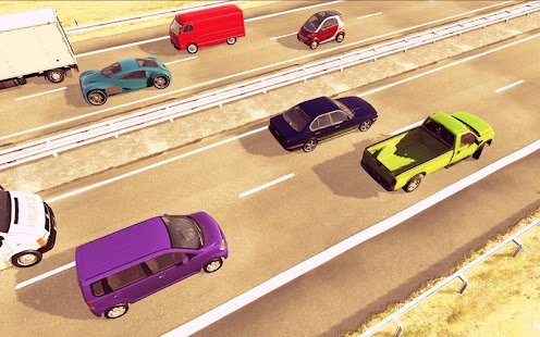 Traffic Chase Highway Traffic Racing Car Games - náhled