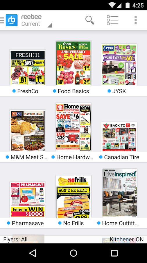 reebee: Flyers & Shopping List - Android Apps on Google Play