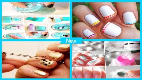 DIY Easy Nail polish tips - náhled