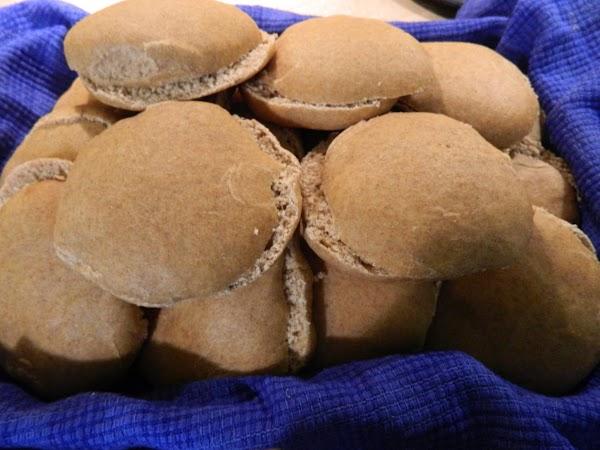 Whole Wheat Sandwich Buns Recipe