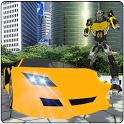Flying Ninja Warrior Robot Transform icon