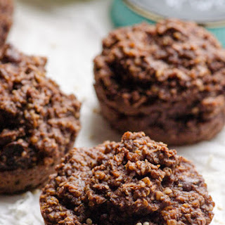 Chocolate Quinoa Muffins.